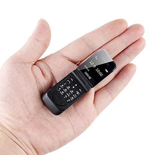 Faderr 3 in 1 Flip Cover Handy Kopfhörer Tasche Telefon Wireless Mini Bluetooth Dial Bluetooth Headset Kopfhörer GSM Handy 18g 99,99% Kunststoff, Schwarz, Free Size (Flip-kopfhörer Wireless)
