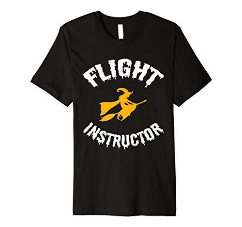 Flight Instructor Hexe Halloween T-Shirt