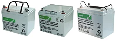 Lucas VRLA/AGM Standby & Cyclic Mobility Equipment Battery 12V 42AH