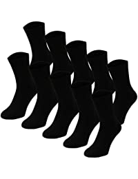 Lavazio® 10 | 20 | 30 | 50 Paar Herrensocken Tennissocken, Sportsocken, Arbeitssocken schwarz weiß grau blau jeans Töne