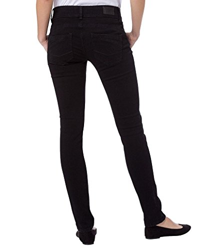 Cross Damen Jeans Melinda - Skinny Fit - Schwarz - Black Black (005)