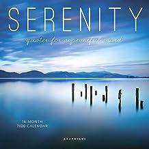 Serenity 2020 Mini Wall Calendar
