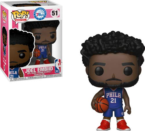 Funko 34445 Pop! Vinilo: NBA: Joel Embiid, Multi