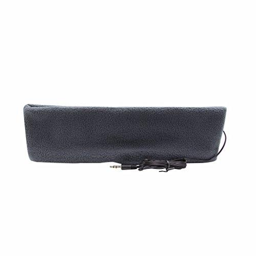 örer mit Stirnband, ultradünne Ohrhörer, besonders bequem, geeignet zum Einschlafen, für Flugreisen, die Arbeit, Sport oder bei Schlafproblemen grau ()