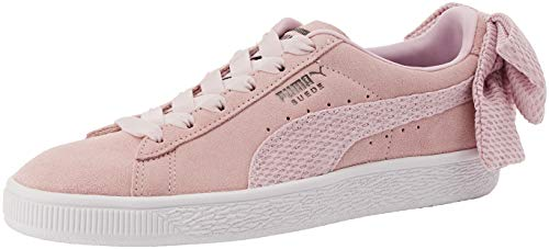 Puma Damen Suede Bow Uprising WN's Sneaker, Pink (Winsome Orchid White 03), 40.5 EU -