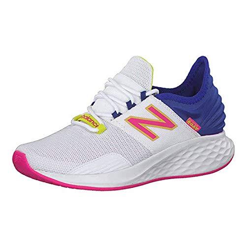 New Balance Fresh Foam Roav - Zapatillas de Running para Mujer, Mujer, Blanco/Azul, 7 US - 37.5 EU ...