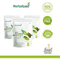 HerbalLeaf Pure & Natural Green Coffee Beans Powder | Pack of 3 | 750 gm