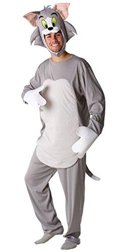 Rubie's Tom Kostüm (Tom & Jerry) für Erwachsene Karneval Fasching Verkleidung Extra ()