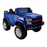 Tots BH5288 Electric Ride-on Car for Kids - Blue and Black