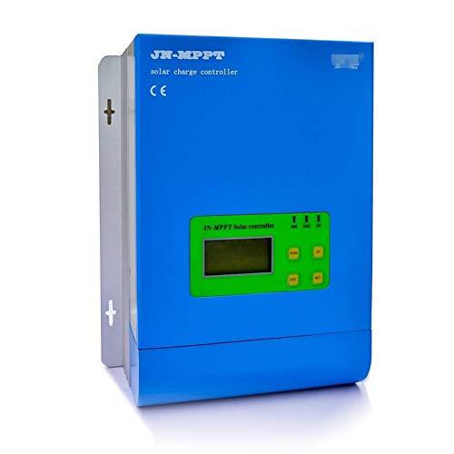 Solar Zubehör MPPT Solarladeregler 12 V / 24 V / 48 V Auto 30A-60A Solarpanel Batterie Regler mit Max150V PV eingang LCD Display mehrere optionen (Color : 60A)