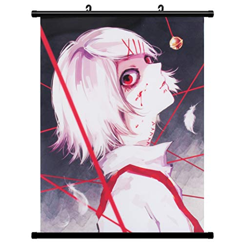 Kakemono Wallscroll para Suzuya Tokio Ghoul la Pintura Mural de Desplazamiento Juuzou Juzo Póster en Tela Animado