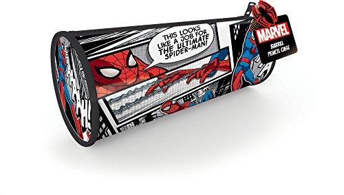 Marvel Spider Man Classic Trousse à Crayons, Noir