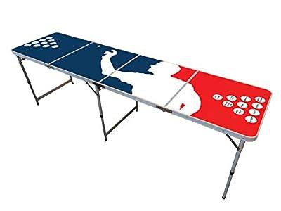 Table Beer Pong Officielle Premium Haute Qualité Version Player - Dimensions Officielles Compétition - Résiste aux Rayures et Éclaboussures - Jeu de Soirée - Jeu à Boire