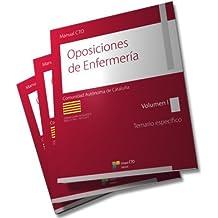 Manual CTO de Oposiciones de Enfermería de Cataluña - Temario Específico (obra completa): 2