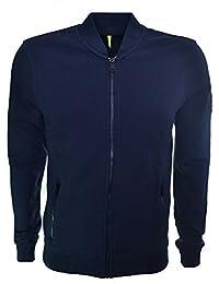 Replay Men's Navy Blue Zip Through Sweatshirt