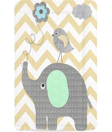 Callowesse - Colchón para Cambiador Elefante Chevron