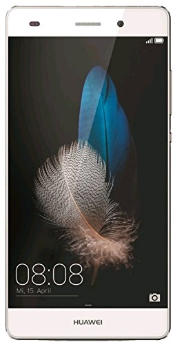 "Huawei P8 Lite - Smartphone de 5"" (HiSilicon Kirin 620 Octa Core 1.2 GHz, 2 GB RAM, 16 GB, Android L, 13 MP), color blanco"