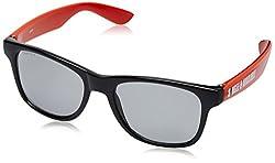 Fastrack Wayfarer Mens Sunglasses-(PC002BK1|Black)