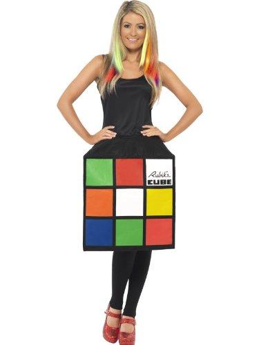 Generique - Zauberwürfel Kostüm Kleid Damen S