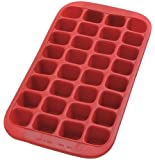 Lekue Gourment Industrial Ice Cube Tray, Red
