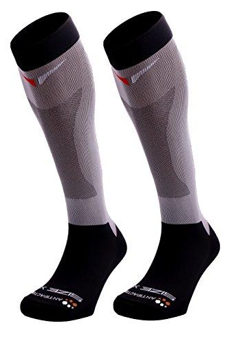 SUNKAA Herren Emana Compression Full Socken, Schwarz, M/L