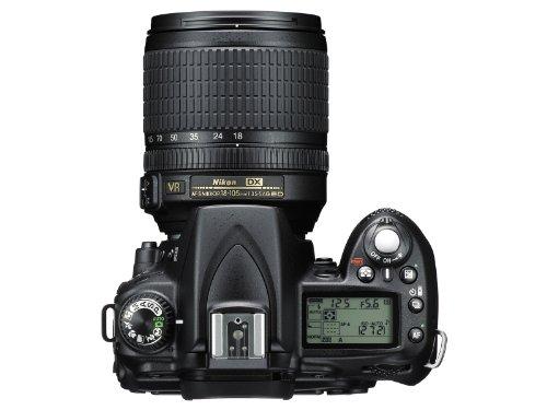 Nikon D90 Fotocamera digitale reflex 12,3 Megapixel con Obiettivo Nikkor 18/105VR, SD 8GB Premium 100X Lexar [Nital card: 4 anni di garanzia]