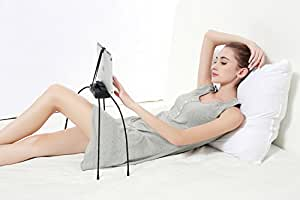 Lazy Tablet Stand | Height & Angle Adjustable | With Four Sturdy Gooseneck Legs | Durable Tablet Holder Cradle For Kitchen Table, Bed & Sofa | Extended Compatibility | Suitable For All Uneven Surfaces