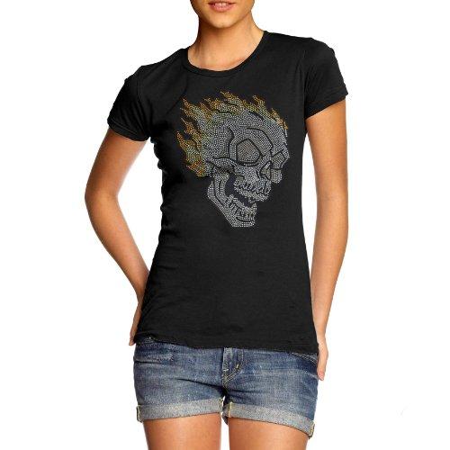 Ropa Marvel (TWISTED ENVY Damen T-Shirt schwarz Schwarz Jahre Für Frauen 36)