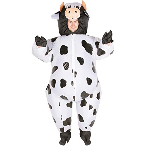 Kostüm Kuh Aufblasbares - Bodysocks Inflatable Cow Costume (Adult)
