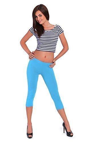futuro FASHION 3/4 leggings longueur tous coloris actif pantalon sport pantalon 8390 Turquoise