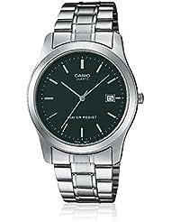 Casio  MTP-1141PA-1A - Reloj de cuarzo para hombre, con correa de acero inoxidable, color plateado