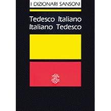 I Dizionari Sansoni: Tedesco-Italiano /Italiano-Tedesco
