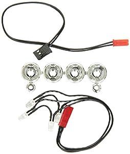 Traxxas 6784 - Barra de luz LED para Coche, Color Cromado