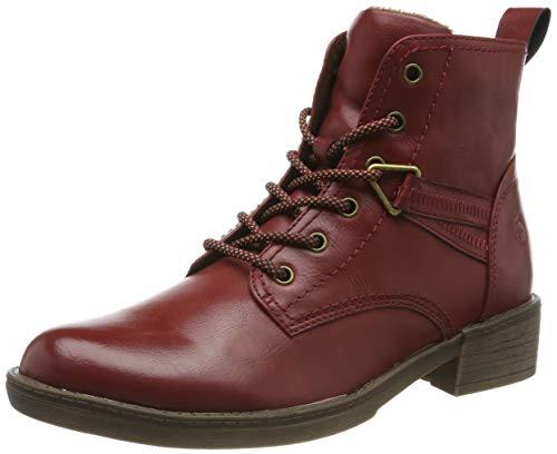 Tamaris Damen 1-1-25116-23 Stiefeletten, Rot (Sangria 536), 39 EU - Sportiva Rot Schuhe