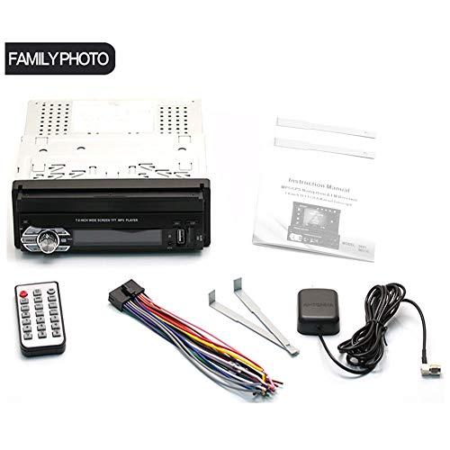 omufipw Bluetooth-Autoradio-Stereoradio-Digitalmedien-Auto-MP3-Player mit Rückfahrkamera GPS-Navigation Amr Mp3