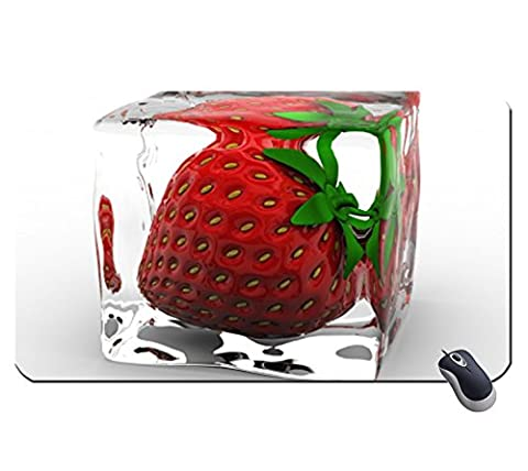 Ice Strawberry 1569572 Super Big Mousepad Maße: 23,6 x 13,8 x 0,2 (60 x 35 x 0,2) (Masse 60 Strawberry)