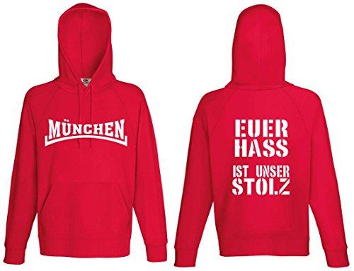 München Euer Hass ist unser Stolz Kapuzensweat Hoodie von S-XXL Cap Polo Club