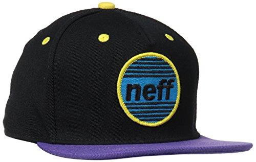 Neff Average Snapback-Cappellino, colore: rosso/blu