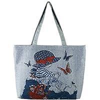 db03b80915 Borsa Shopping Tote Tote Bag da Viaggio alla Moda per Donna Borsa Spesa  Riutilizzabile per generi