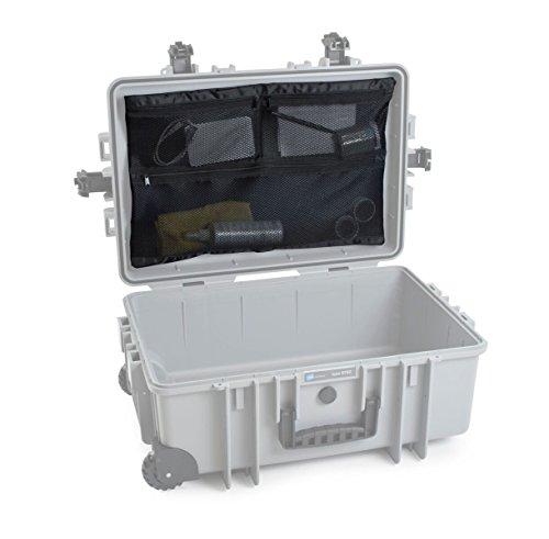 B&W outdoor.cases Netzdeckeltasche (MB) für outdoor.case Typ 6700 - Das Original