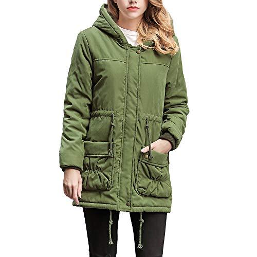i-uend 2019 Damen Mantel, Ärmel Blazer Kurz Strickjacke Jacke Arbeit Büro Mantel Frau Herbst Winter Jacke Trenchcoat Jacke Sweatjacke Winter Warm Jacke
