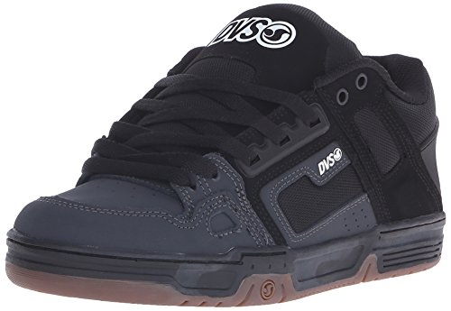 DVS (Elan Polo) Comanche, Chaussures de Skateboard homme Gris (Grey/Black/White Nubuck)