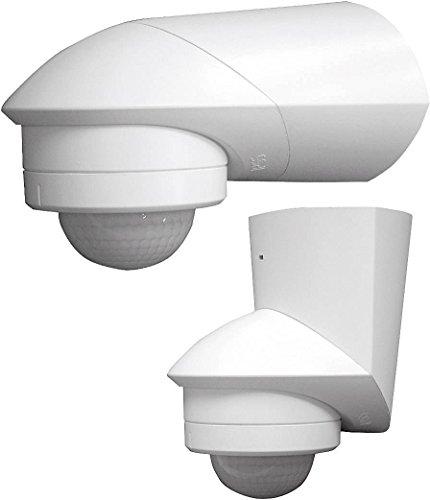Grothe 5167041 Bewegungsmelder Grad 230 V, Aufputz, IP55, Mc Guard Pro BM 360 ws, weiß