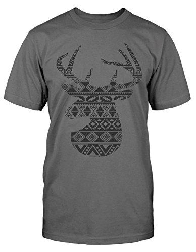Ugly Hirsch T-Shirt neu Boho Vintage Fun Deer Tracht Norwegen Blogger Hipster (Trachten Von Norwegen)