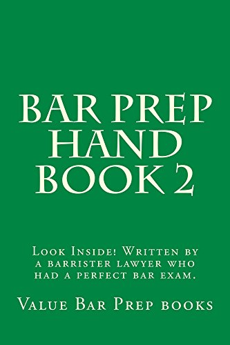 Bar Prep Hand Book 2: A Jide Obi law book por Ogidi law library