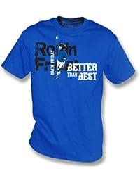 PunkFootball Petirrojo Viernes (Cardiff) – Mejor Que la Mejor Camiseta tamaño Mediano