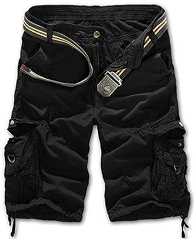 Salopette Short Homme - Mochoose Homme Pantalons Courts Coton de L'été