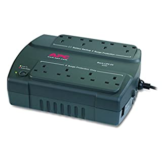 APC Back-UPS ES - BE400-UK - Uninterruptible Power Supply 400VA (8 Outlets, Surge protected)