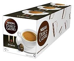 NESCAFÉ Dolce Gusto Dallmayr Crema d'Oro | 48 Kaffeekapseln | 100% Arabica-Bohnen | Feine Crema und vollmundiges Aroma | Schnelle Zubereitung | Aromaversiegelte Kapseln | 3er Pack (3 x 16 Kapseln)