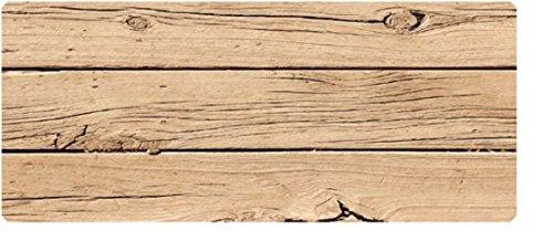 Sehr hochwertiger Küchenläufer - Läufer - Teppich - Küchenmatte - Modell Holz - Wood - Baumstamm - Läufer Teppich Holz